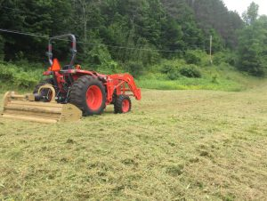 Field Mowing And Bailing Devon
