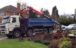 Lorry Grab Hire Penryn Cornwall